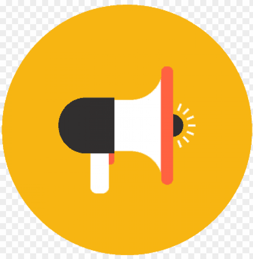free PNG megaphone flat icon - town hall meeting icon png - Free PNG Images PNG images transparent