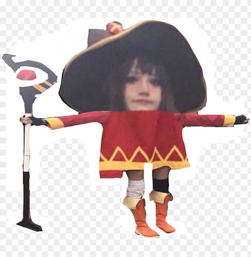 free PNG megumin cosplay t pose PNG image with transparent background PNG images transparent
