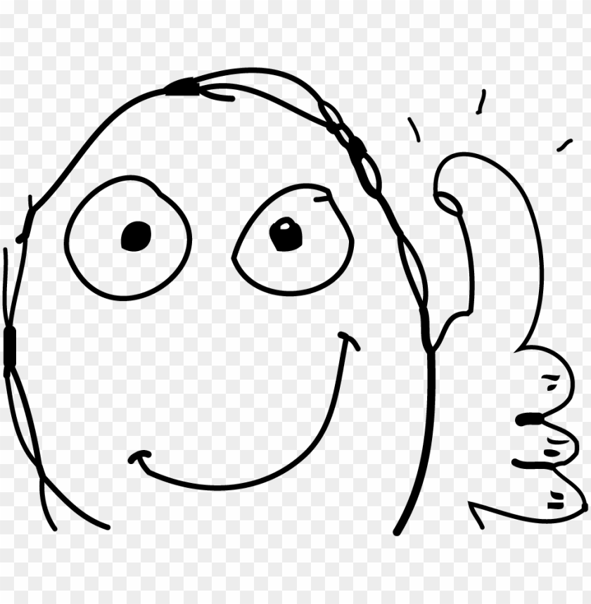 free PNG meme face thumbs up - thumbs up meme transparent PNG image with transparent background PNG images transparent