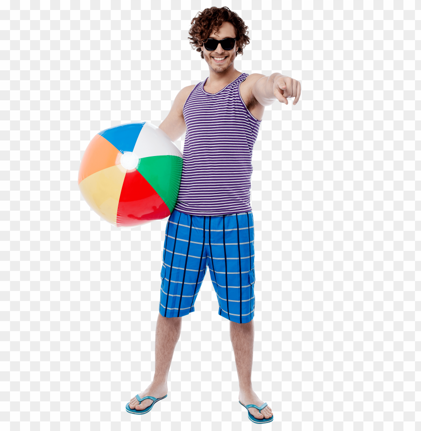 free PNG Download men with beach ball png images background PNG images transparent