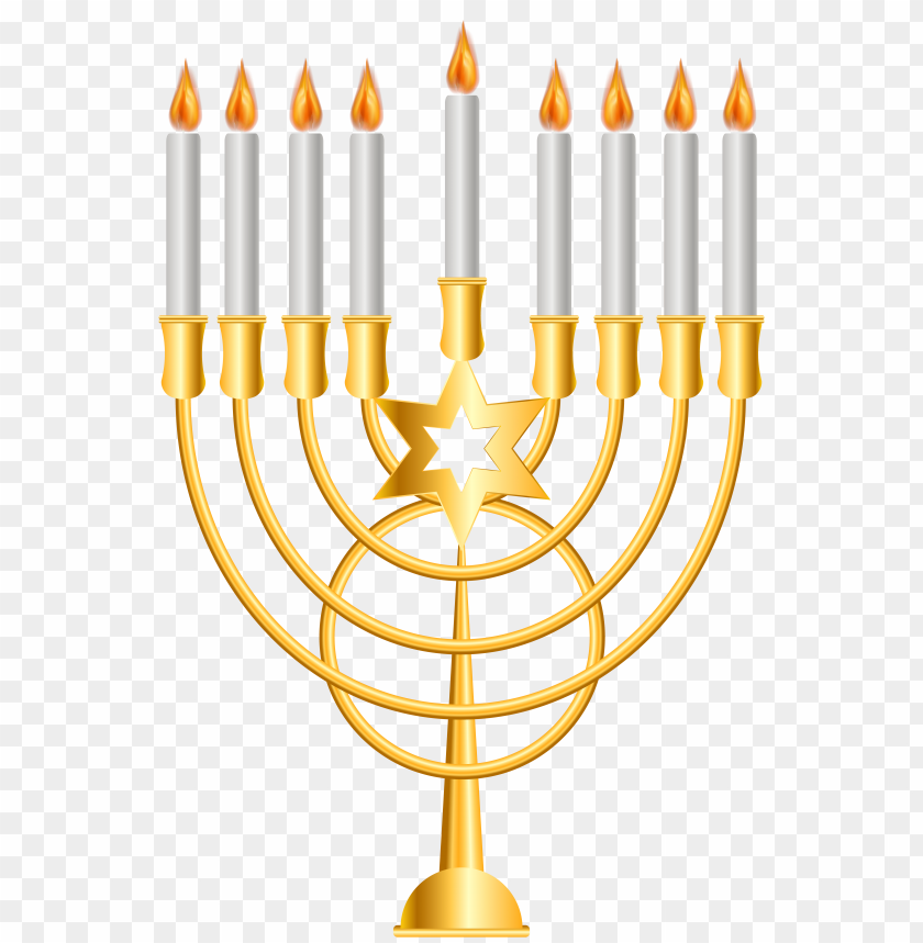 free PNG Download menorah gold clipart png photo   PNG images transparent