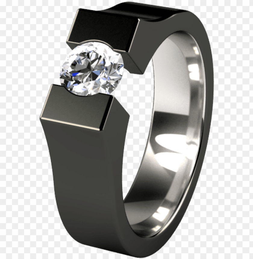 free PNG mens black engagement rings mens black diamond wedding - black diamond ring ma PNG image with transparent background PNG images transparent