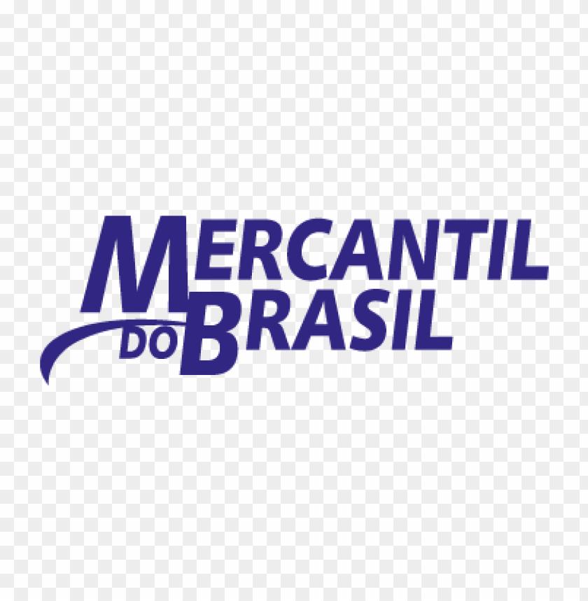 Mercantil Do Brasil Vector Logo Free Toppng