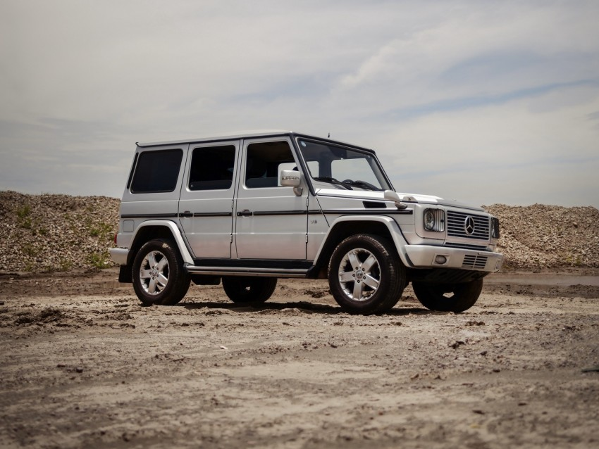 mercedes-benz g500, mercedes, car, suv, gray, off-road background@toppng.com