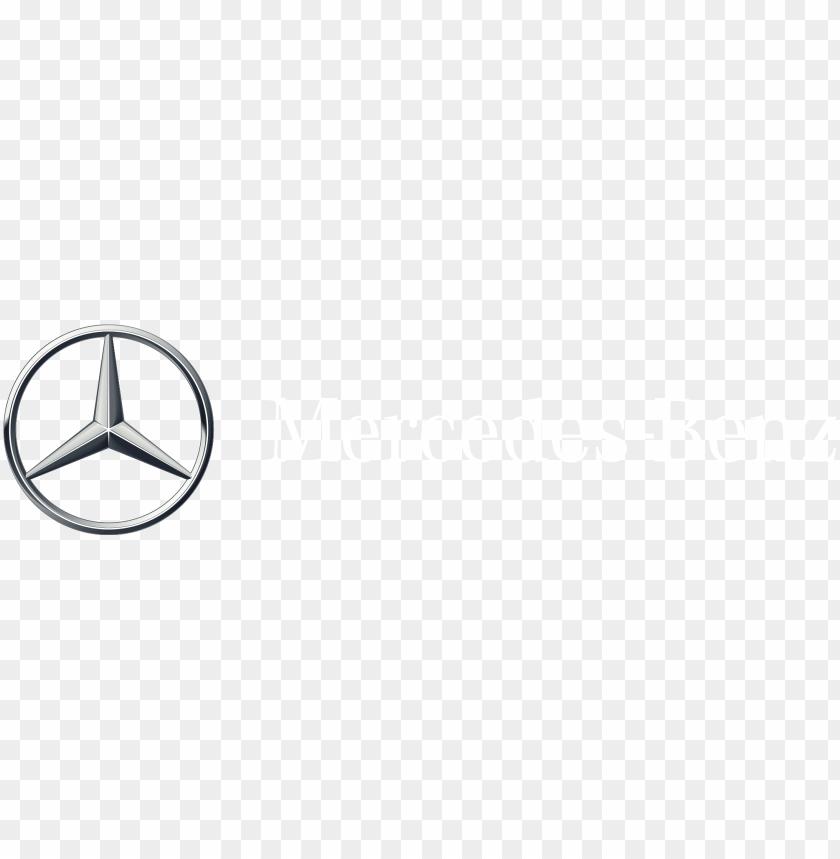 free PNG mercedes-benz logo - mercedes white logo PNG image with transparent background PNG images transparent
