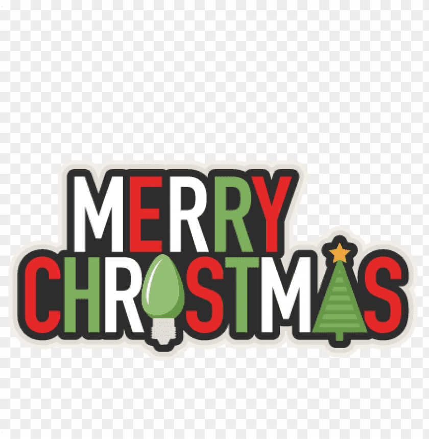 free PNG merry christmas phrase svg scrapbook cut file cute - svg silhouette merry christmas PNG image with transparent background PNG images transparent