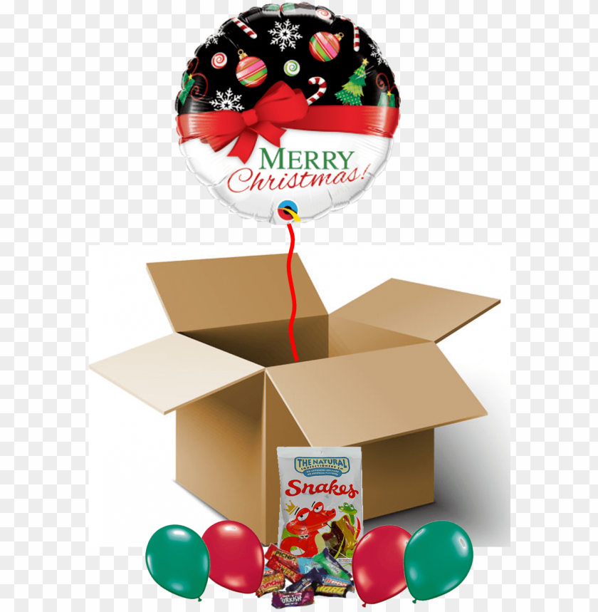 """free PNG merry christmas red bow balloon in a box - christmas foil balloon - christmas red bow (18"""") 1pc PNG image with transparent background PNG images transparent"""