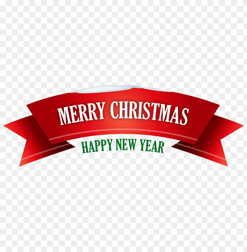 Beautiful Transparent Background Merry Christmas And Happy New Year Clipart Free Images