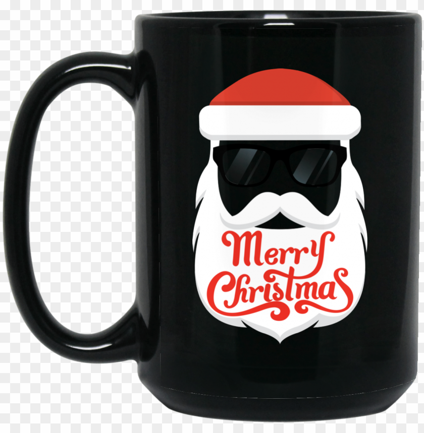 free PNG merry christmas, santa blowing heart emoji mug - christmas day PNG image with transparent background PNG images transparent