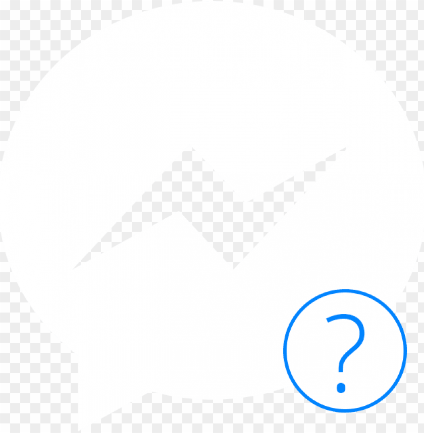 free PNG messenger icon - facebook messenger icon white PNG image with transparent background PNG images transparent