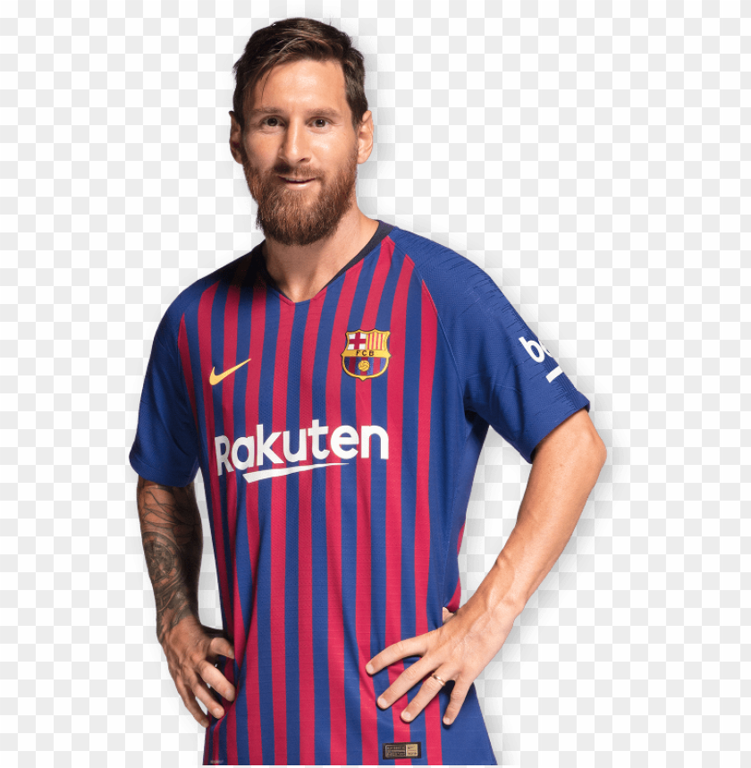 free PNG messi hero 2018/19 - new fc barcelona 2017 - 2018 la liga football messi PNG image with transparent background PNG images transparent