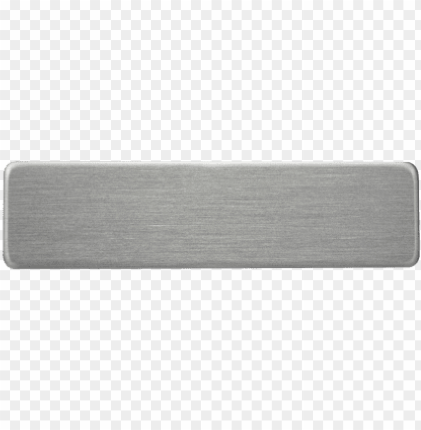 free PNG metal name plate png - blank silver metal name plate PNG image with transparent background PNG images transparent