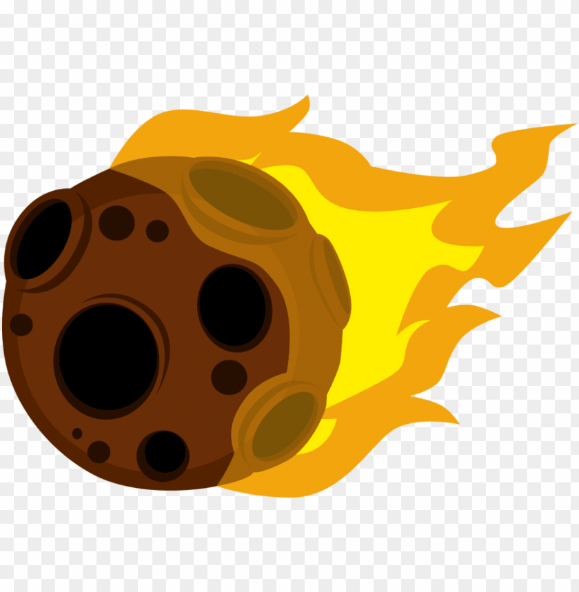free PNG meteor png - asteroid clipart PNG image with transparent background PNG images transparent