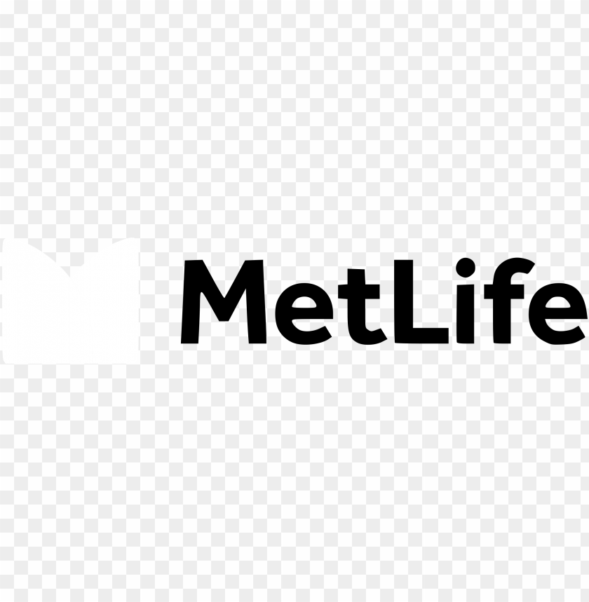 free PNG metlife logo black and white - metlife inc logo PNG image with transparent background PNG images transparent