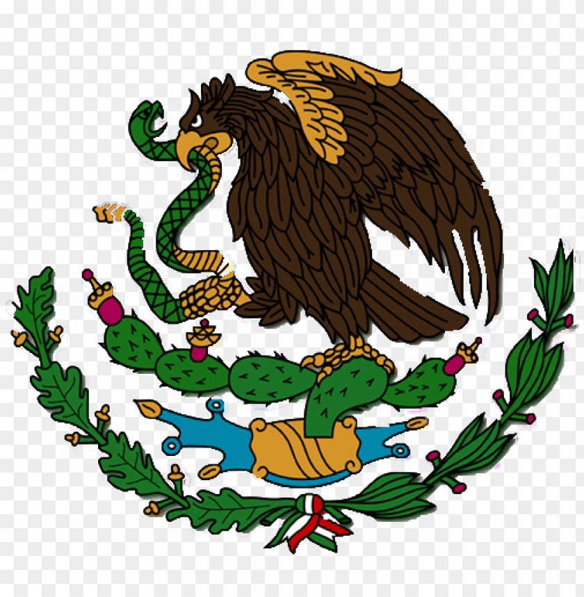 free PNG mexican flag eagle png download - evolution mexico fla PNG image with transparent background PNG images transparent
