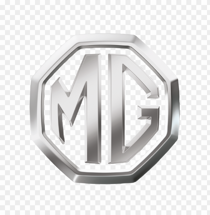 MG logo Silver PNG image with transparent background@toppng.com