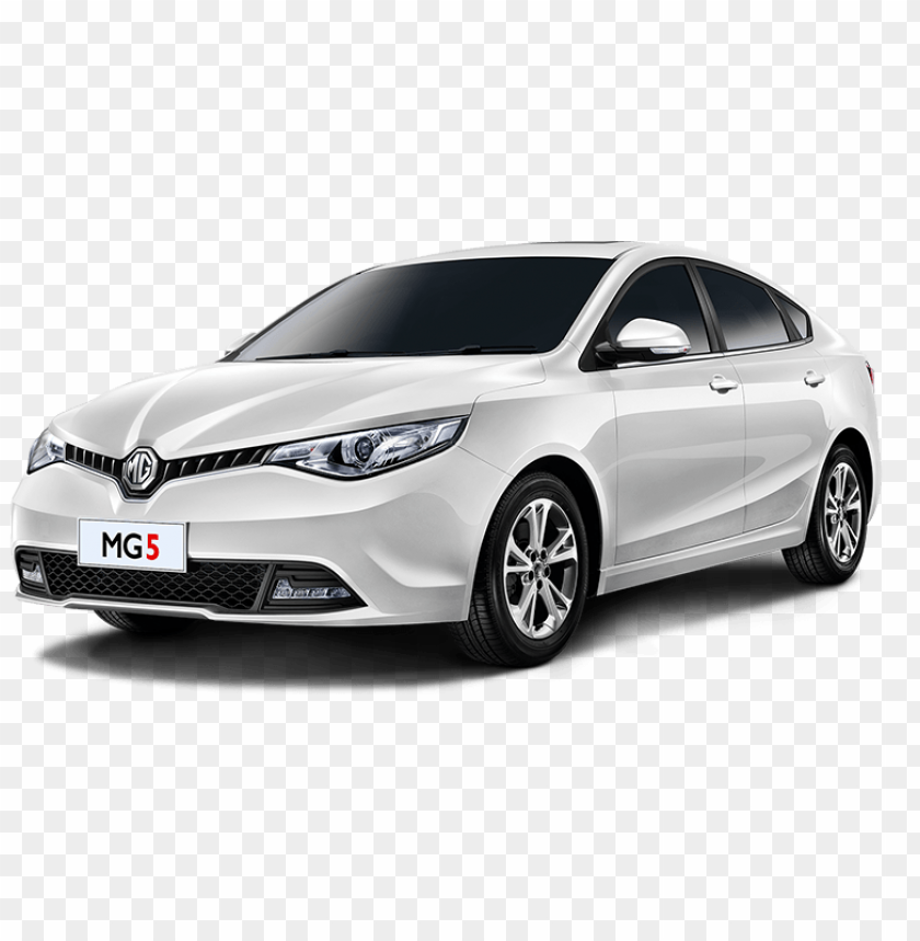free PNG mg5 white car PNG image with transparent background PNG images transparent