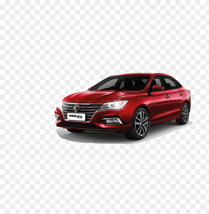 free PNG mg5 red car PNG image with transparent background PNG images transparent