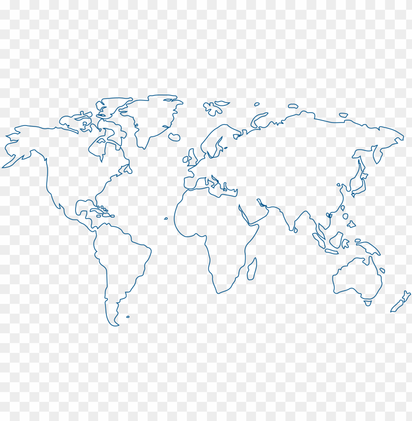 free PNG mi world map outline png - world map coloring page PNG image with transparent background PNG images transparent