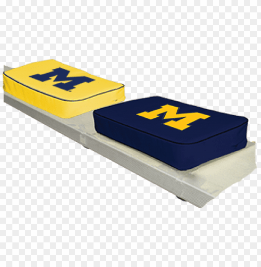 free PNG michigan football seat cushions PNG image with transparent background PNG images transparent