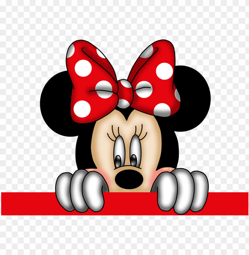 free PNG mickey e minnie png - minnie mouse red PNG image with transparent background PNG images transparent