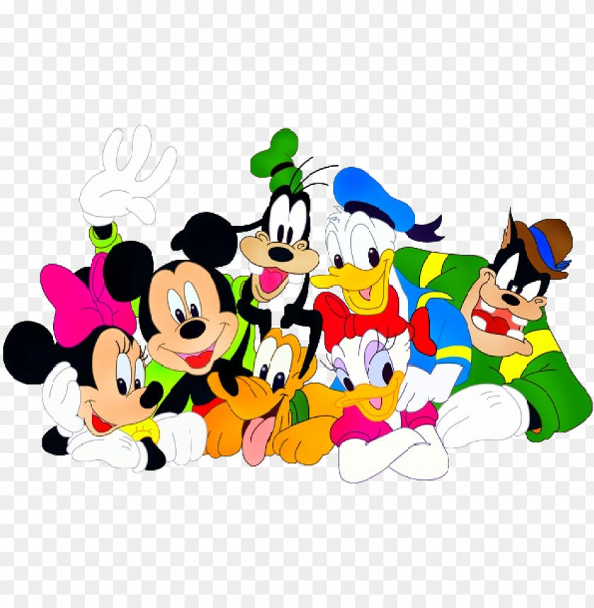 free PNG mickey mouse and friends birthday png - disney mickey mouse and friends PNG image with transparent background PNG images transparent