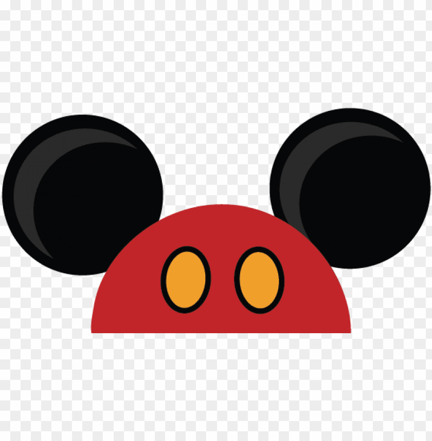 mickey mouse ears png - mickey mouse ears transparent PNG image with transparent background@toppng.com