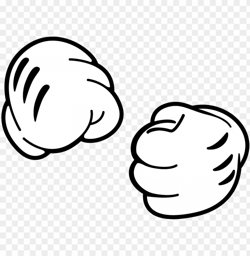Mickey Mouse Hands Fist Png Image With Transparent Background Toppng Here you can explore hq fist transparent illustrations, icons and clipart with filter setting like size, type, color etc. mickey mouse hands fist png image with