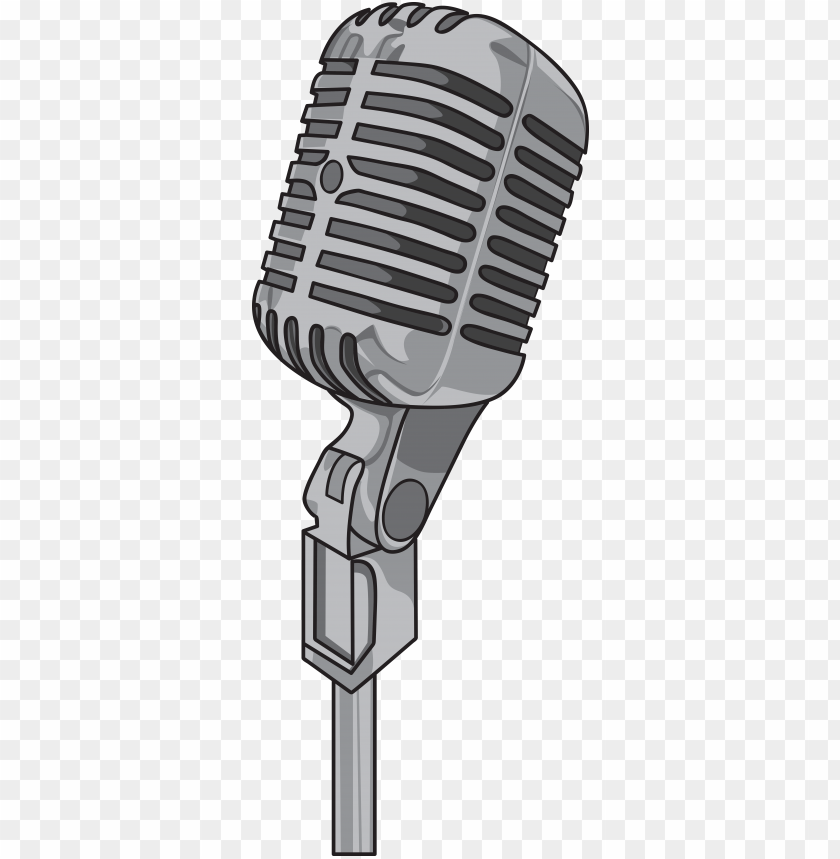 free PNG microphone vector png download microphone vector png - vintage radio station logo PNG image with transparent background PNG images transparent