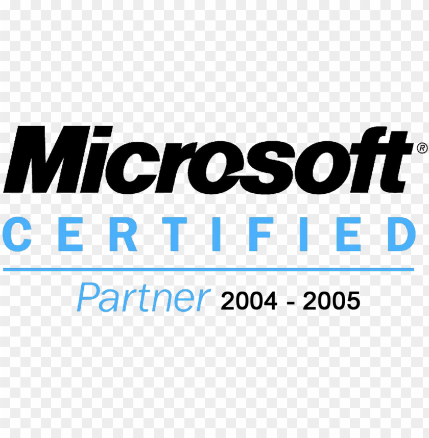 microsoft certified logo vector PNG image with transparent background@toppng.com