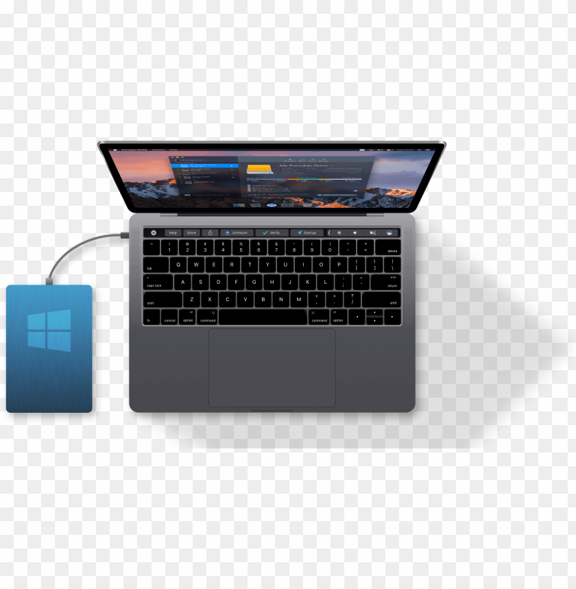 free PNG microsoft ntfs for mac by paragon software - wavlink aluminum thunderbolt 3 usb-c hub adapter for PNG image with transparent background PNG images transparent
