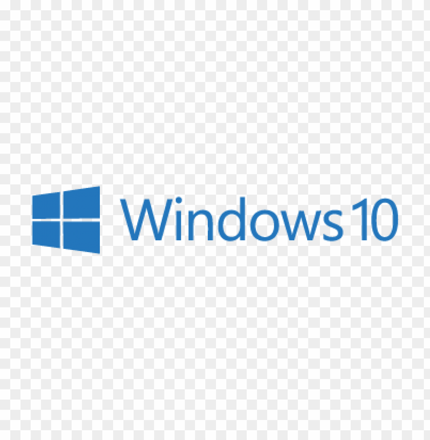 free PNG microsoft windows 10 logo vector PNG images transparent