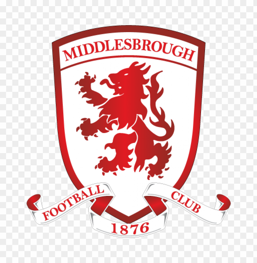 middlesbrough fc logo vector@toppng.com