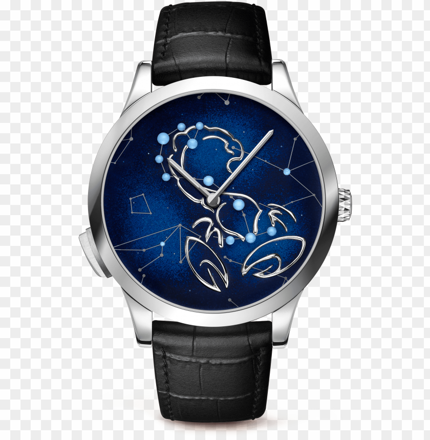 free PNG midnight zodiac lumineux taurus watch,satin-finish - van cleef & arpels midnight zodiac gemini PNG image with transparent background PNG images transparent