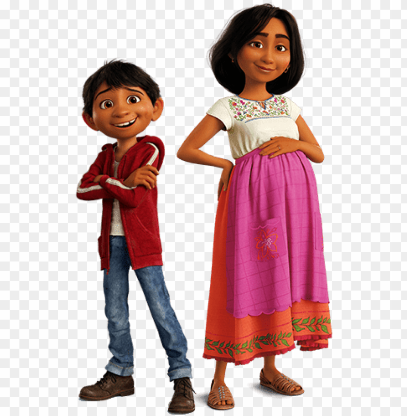 free PNG miguel and his mother png - mama de miguel coco PNG image with transparent background PNG images transparent