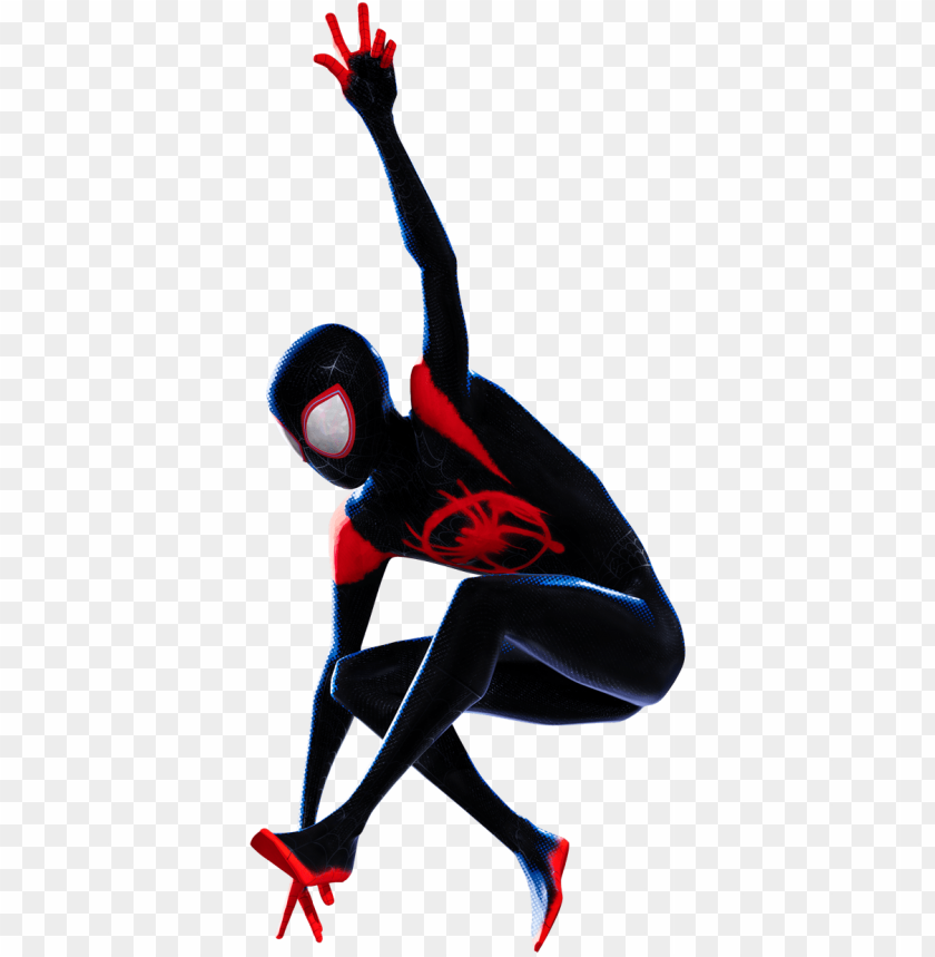 free PNG miles morales from spider man into the spider verse - spider man new generatio PNG image with transparent background PNG images transparent