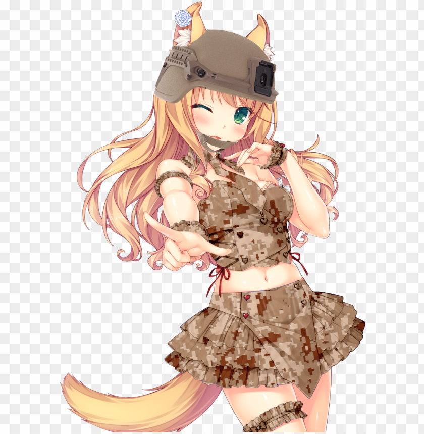 free PNG military maple - maple nekopara transparent PNG image with transparent background PNG images transparent