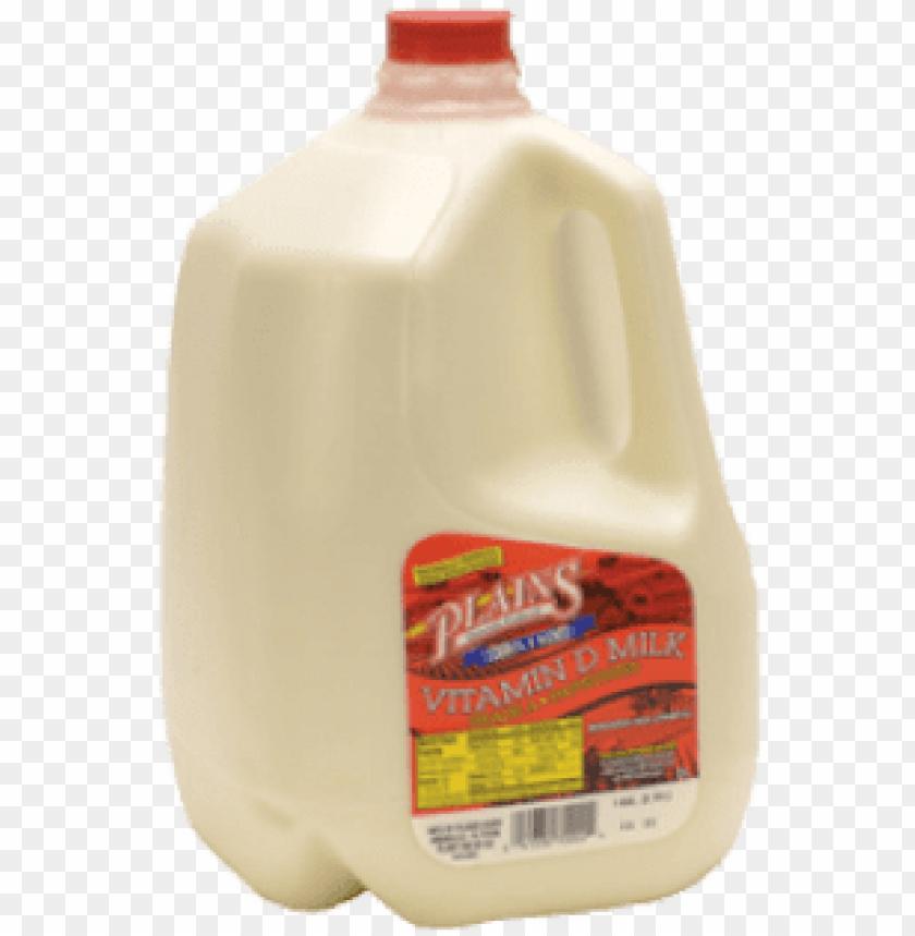 free PNG milk plains dairy milk jug - plains dairy vitamin d milk, 1 gal PNG image with transparent background PNG images transparent