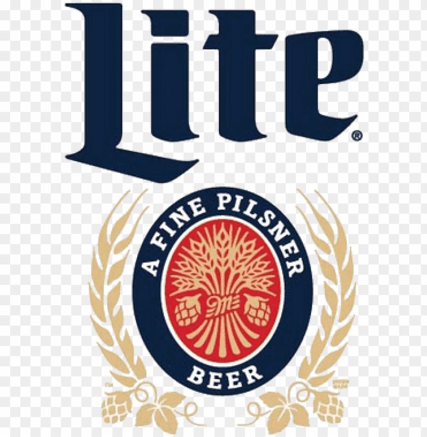 miller lite beer logo PNG image