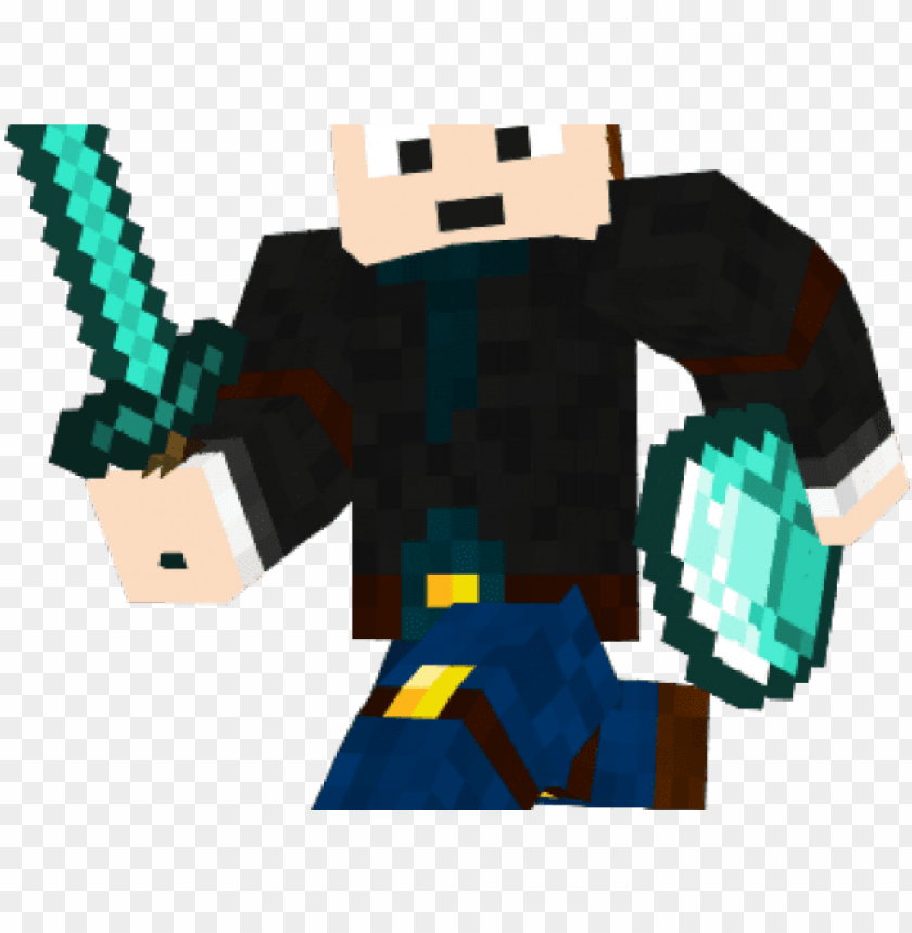 free PNG minecraft clipart transparent background - dantdm PNG image with transparent background PNG images transparent