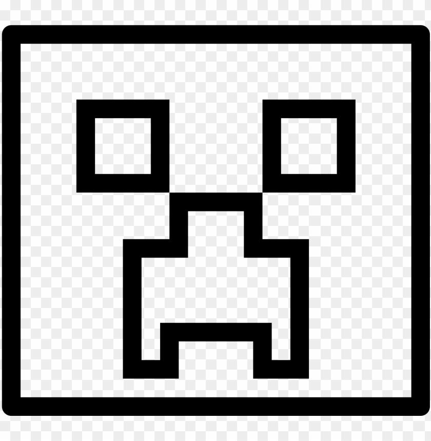 Minecraft Creeper Icon Geometry Dash Subzero Icon Png