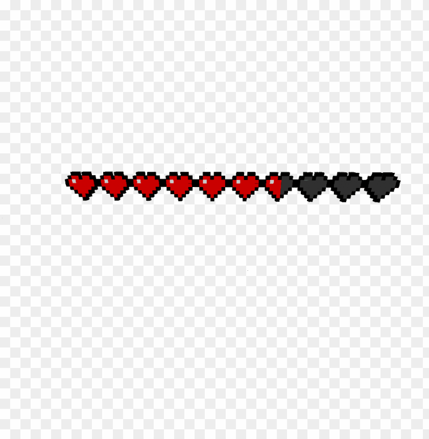 Minecraft Health Bar Png Image With Transparent Background Toppng