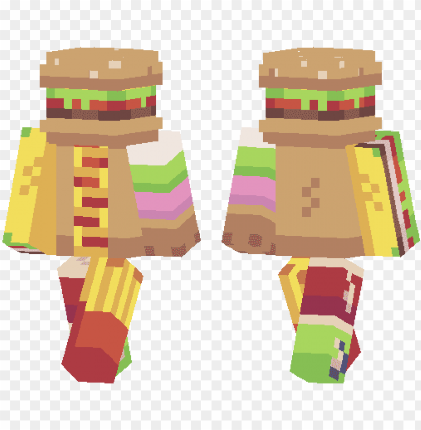 Minecraft Pe Skins Page 21 Mcpe Dl Minecraft Skin Burger