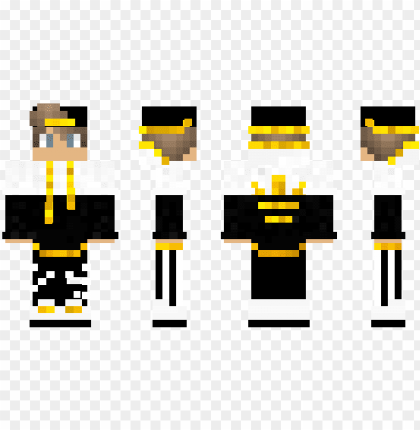 free PNG minecraft skin gold boy - minecraft PNG image with transparent background PNG images transparent