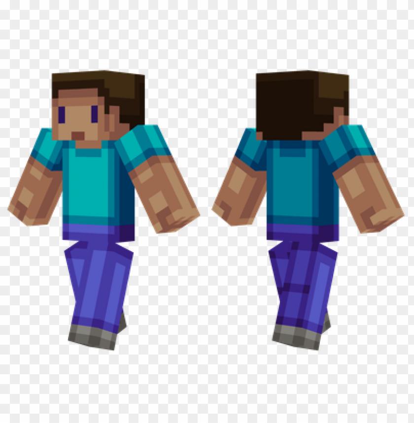 Minecraft Skins Blocky Steve Skin Png Image With Transparent
