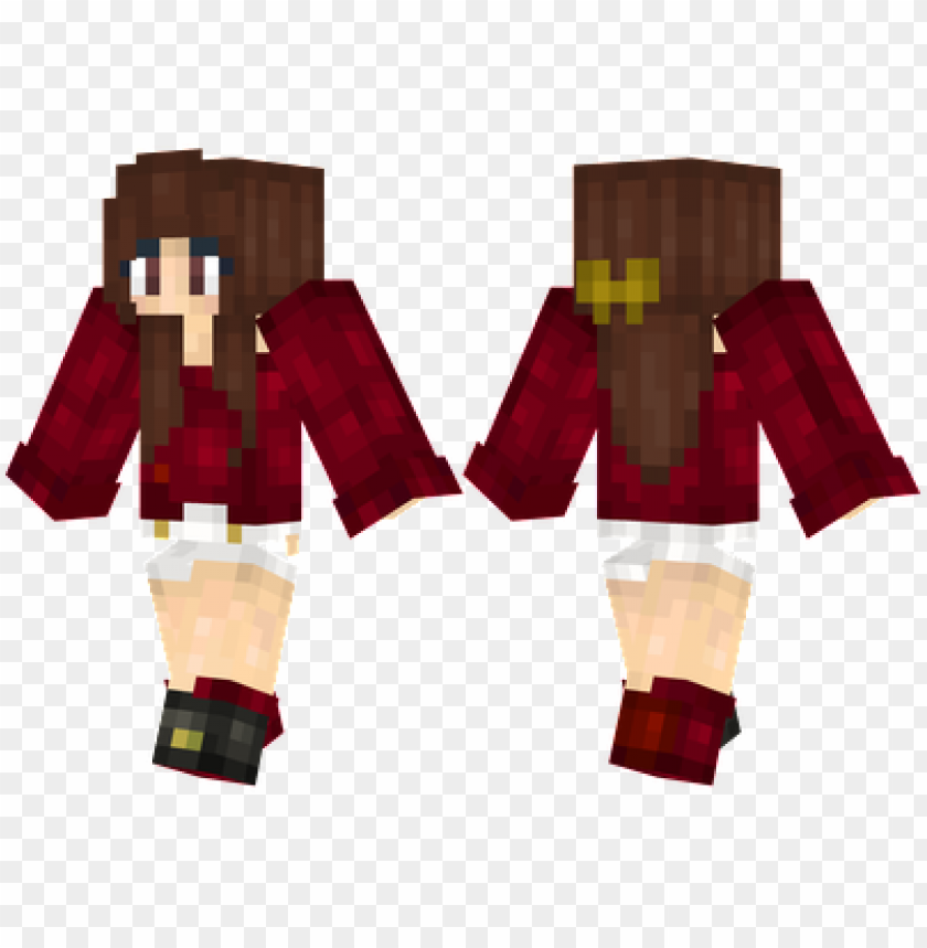 free PNG minecraft skins brunette sweater girl skin PNG image with transparent background PNG images transparent