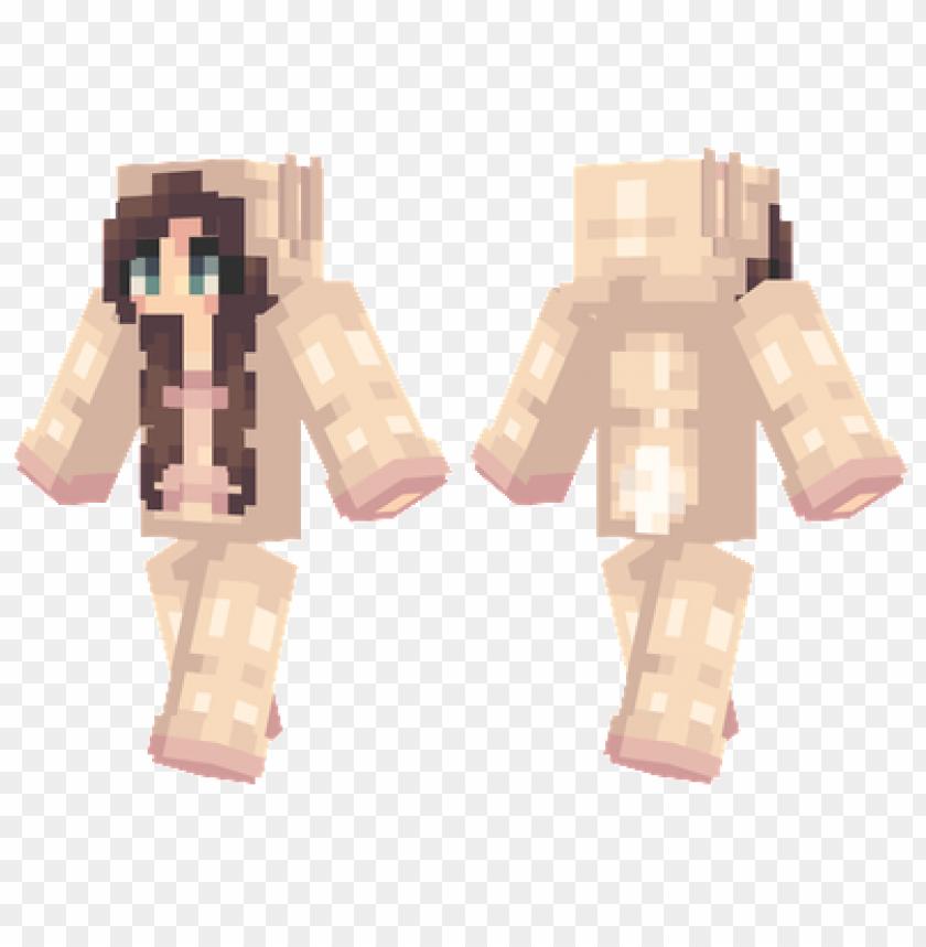 free PNG minecraft skins bunny girl skin PNG image with transparent background PNG images transparent