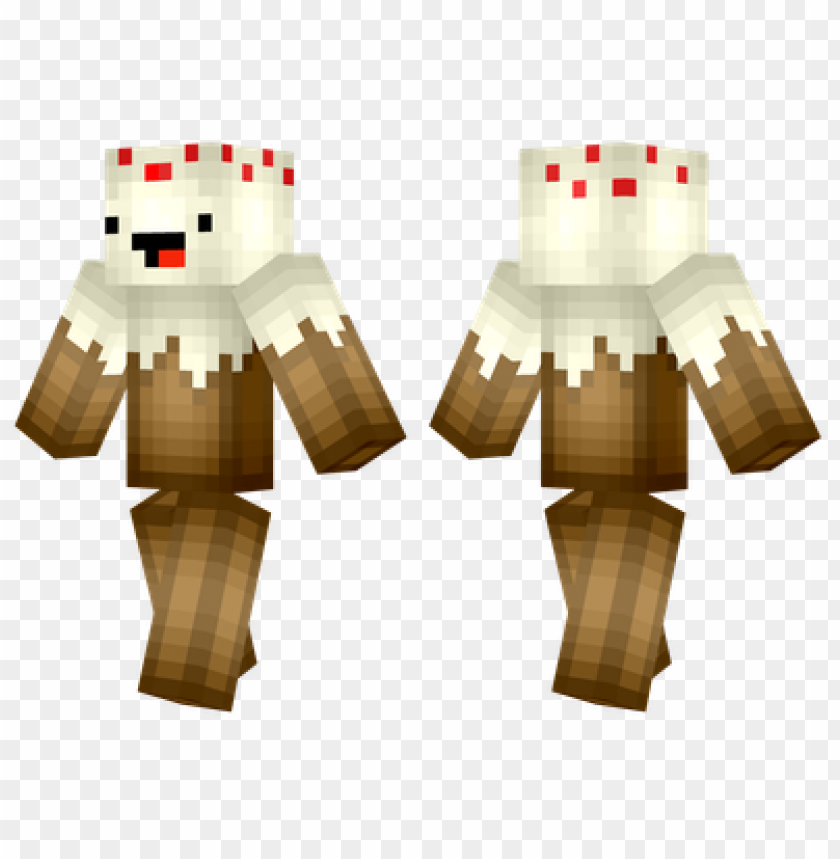 Minecraft Skins Cake Skin Png Image With Transparent Background