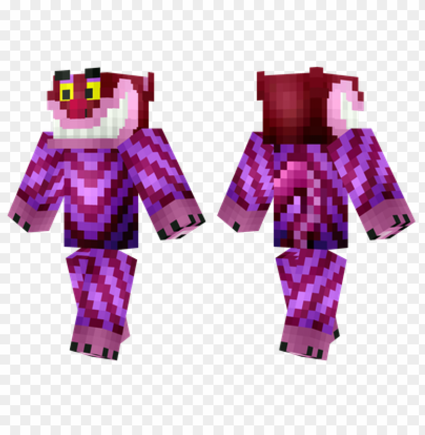 free PNG minecraft skins cheshire cat skin PNG image with transparent background PNG images transparent