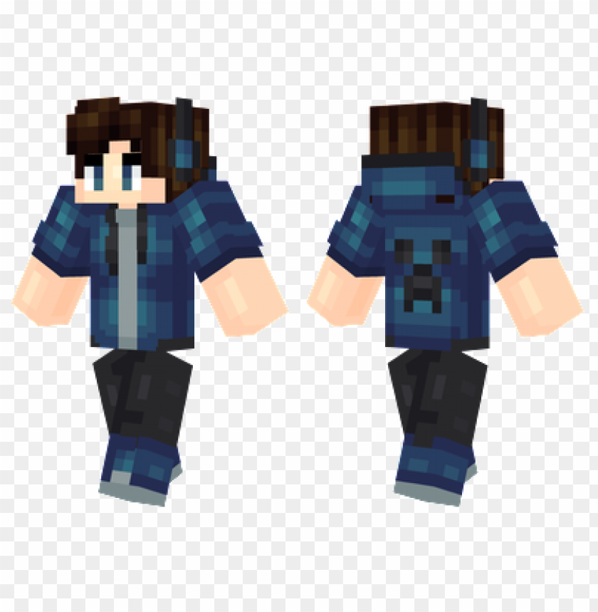 Minecraft Skins Cool Blue Creeper Skin Png Image With Transparent Background Toppng